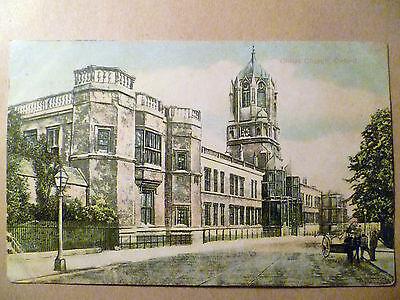 Vintage Religious Postcard: CHRIST CHURCH, OXFORD