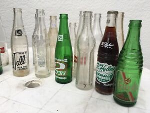 Early Vintage BC Soda Pop Bottles
