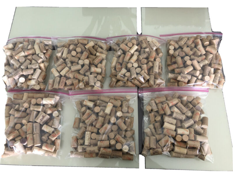 Natural Used Wine Corks; Lot of 100 or DISCOUNT for 600 corks!