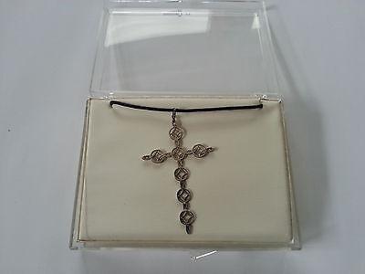 Halskette/Anhänger-Medalion-Kupfer -versilbert