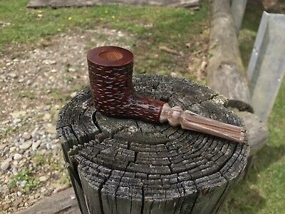 Custom made poker pipe,estate pipe,billiard pipe,brian doran,bent pipe,briarpipe