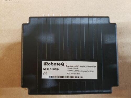 MBL1660A: Motor Controller | RoboteQ | Galco