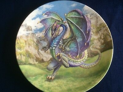 """Danbury Mint The Dragons Of Enchantica """"Dragon Of The Valleys """" -small scratches"""