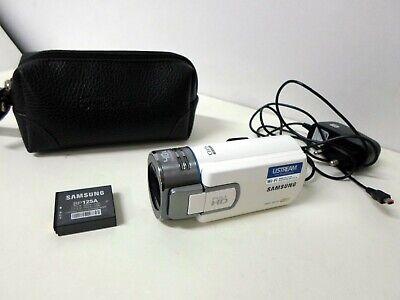SAMSUNG HMX-QF30 Camcorder Video Camera 20x Optical Zoom, Full HD