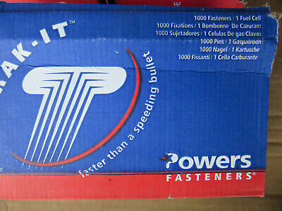 1000 Powers 55085 Trak-it .680 Pins Only No Fuel Cell New In Box Free Shipping