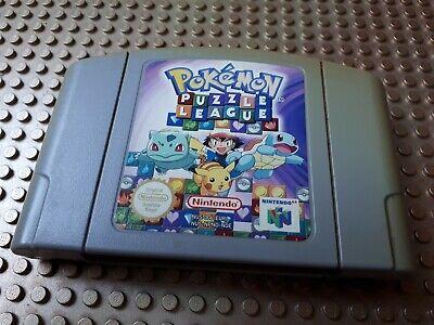 Nintendo 64 Spiel Modul Pokemon Puzzle League EUR N64 43