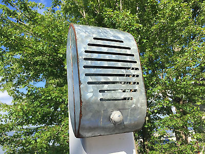 Rustic Galvanized Decorative Wall Art Metal Drive-In Movie Show Prop Speaker