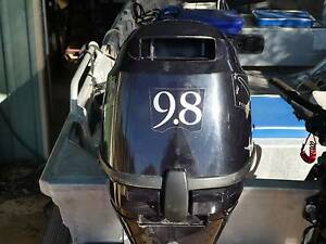 Tohatsu 9.8 hp 4 stroke outboard Geraldton Geraldton City Preview