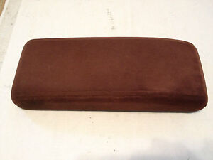 2000 2005 chevy impala buick century arm rest center console lid maroon cloth ebay. Black Bedroom Furniture Sets. Home Design Ideas