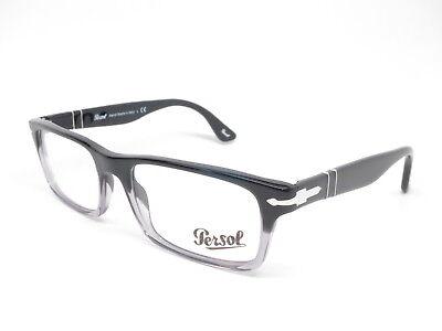 Persol PO 3050V 966 Gradient Black Eyeglasses 3050-V (Persol Spectacles)
