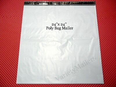 30 Poly Bag Extra Large Shipping Envelopes 24x 24 Self-sealing Postal Mailers