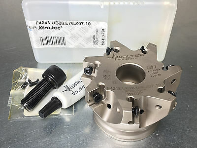 New Walter 3 Indexable Face Mill Xtra-tec Milling Cutter F4048.ub26.076.z07.10