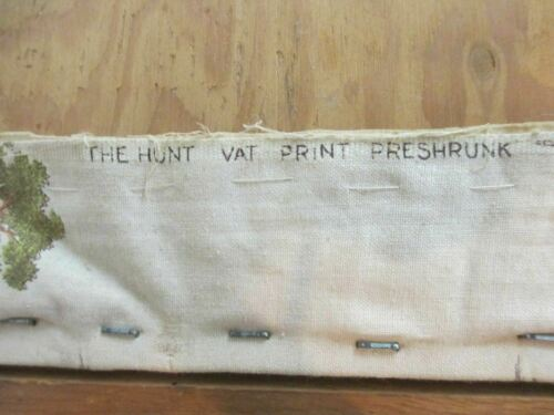 The Hunt Vat Print Preshrunk Test No. CS 54-44 - 23 X 19 Framed Fabric Picture - $55.00