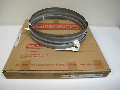 Lot Of 2 New Simonds Epic 12 10 Band Saw Blades 12ft 10 In 1 Wide 64-365500