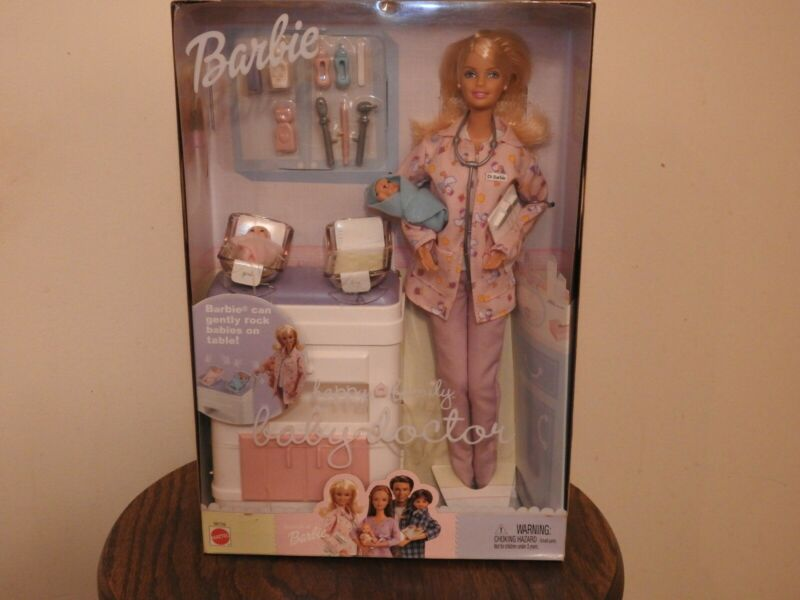Happy Family barbie baby doctor New Born Baby Boy And Girl NBRFB