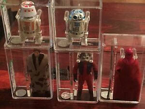 Vintage Star Wars Action Figures  AFA High Grades Figures!