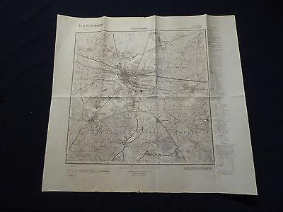 Landkarte Meßtischblatt 3650 Fürstenwalde, Ketschendorf, Rauen, Neu Golm, 1937