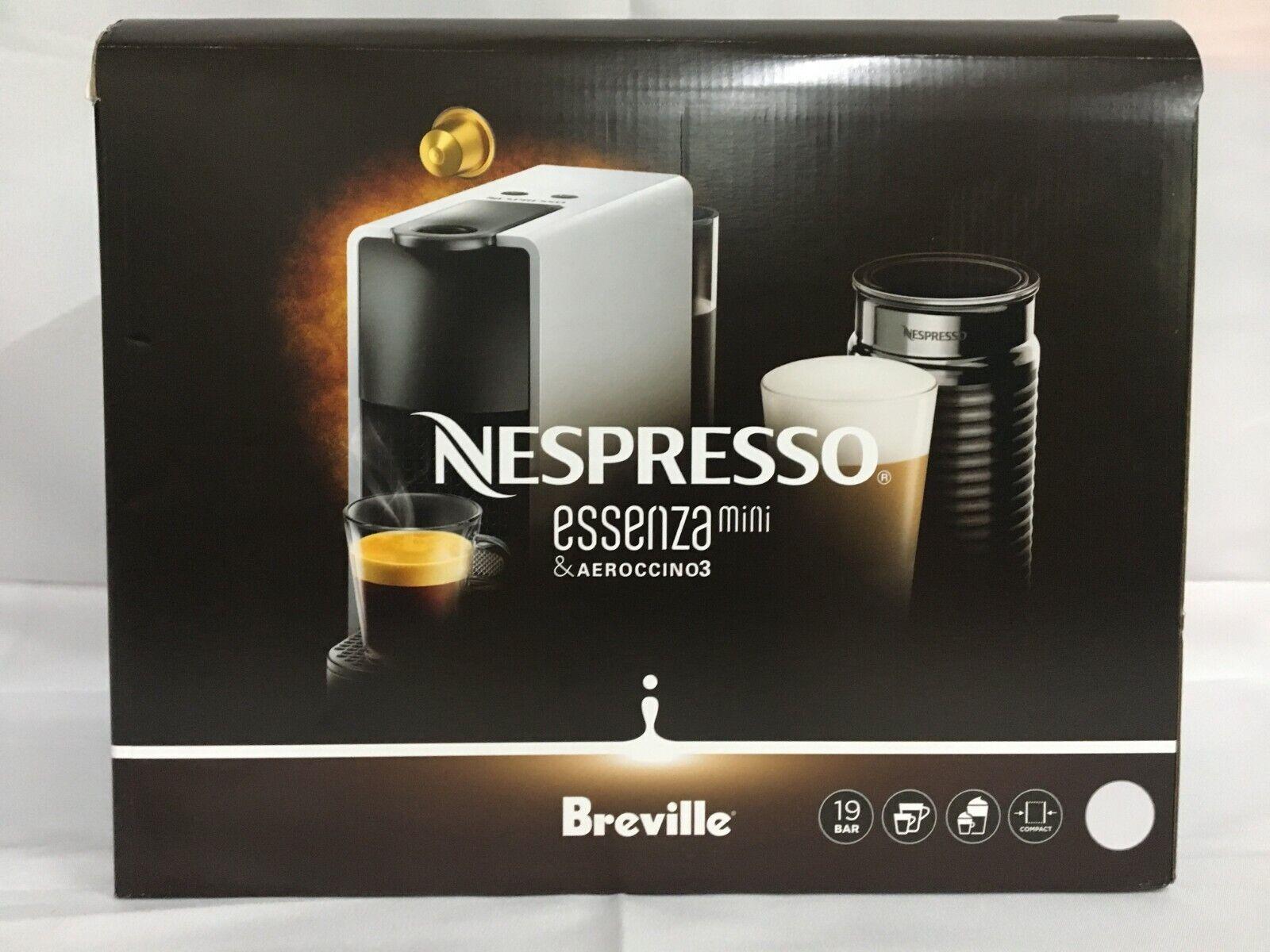 Nespresso Essenza Mini Original Espresso Machine Bundle with