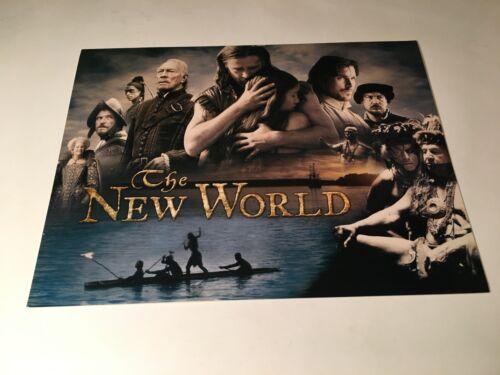 The New World Original 2005 Movie Pressbook Promo Folded Brochure Colin Farrell
