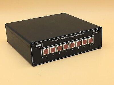Tieline VS850 AVC Pro Solutions 8 Input Vertical Input Switcher