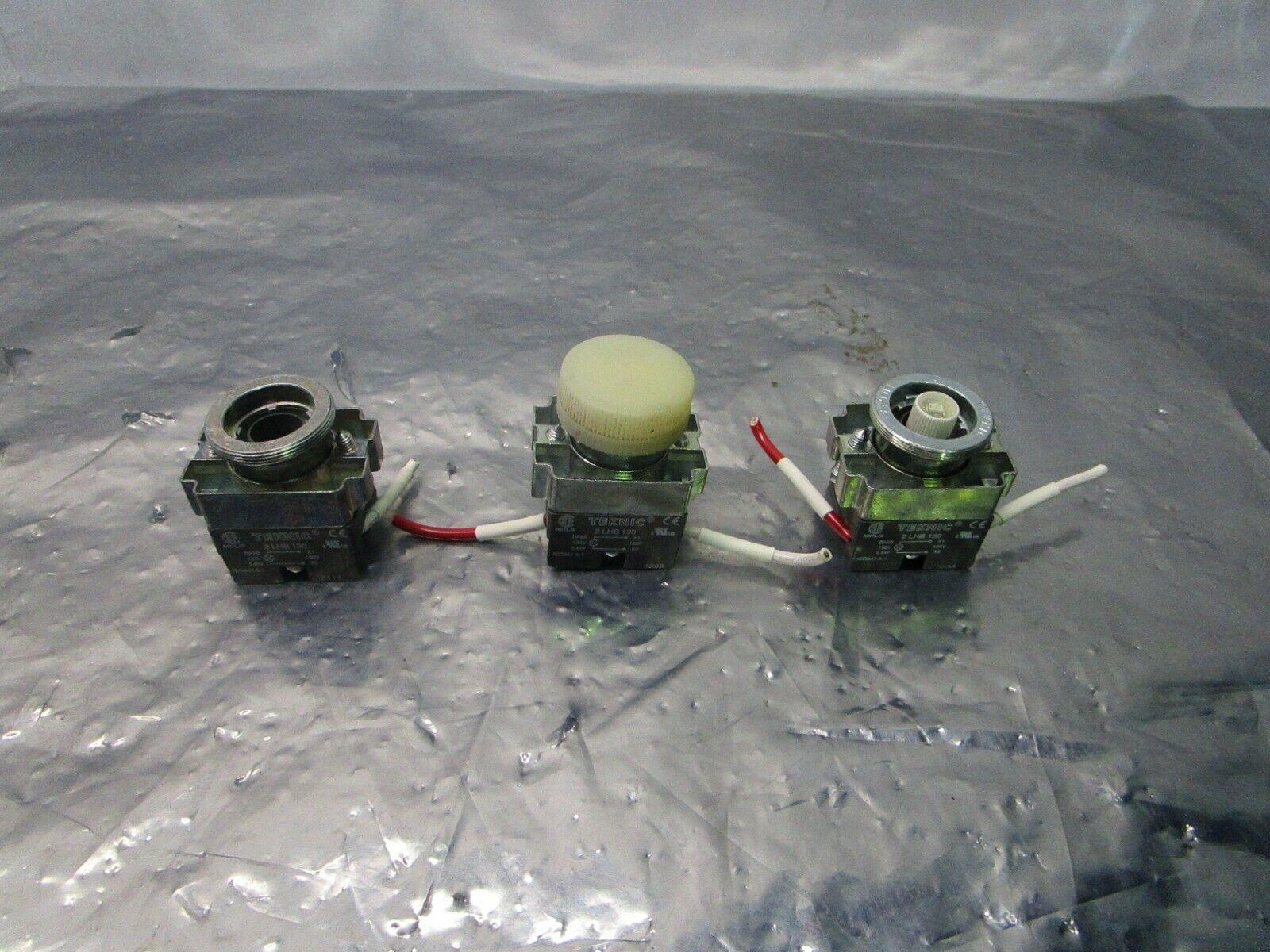 3 Teknic 2LHB130 Pushbutton, 101171