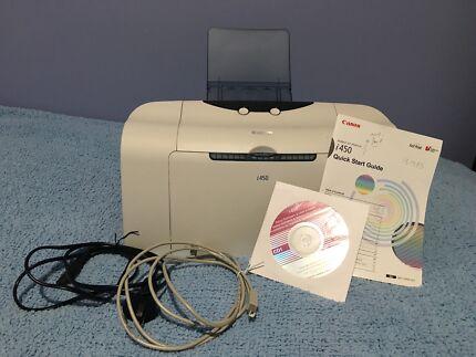 Canon Bubble Jet Printer i450