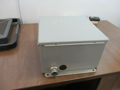 Hoffman Type 12 13 Enclosure A-10106ch Size 10x10x6 Used