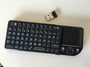 Mini Bluetooth Wireless Keyboard - Remote Control - Touchpad - Ba Carlton Melbourne City Preview