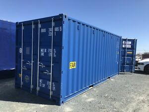 ONE WAY CONTAINERS. 20' and 40' DOUBLE DOOR CONTAINERS. 40' HCs