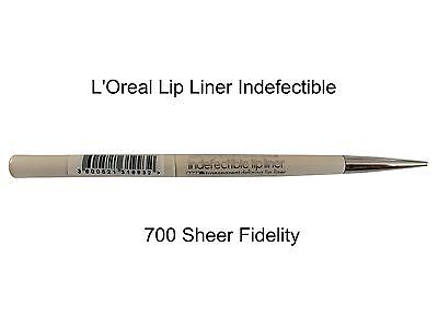 L´oreal Konturstift Infallible Lipliner Indefectible 700 Sheer Fidelity Loreal