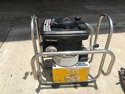 Amkus Extrication Hydraulic Power Unit 10500 Psi Briggs Stratton 4.0 Hp Rescue
