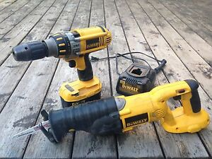 Cordless drill & sawzall