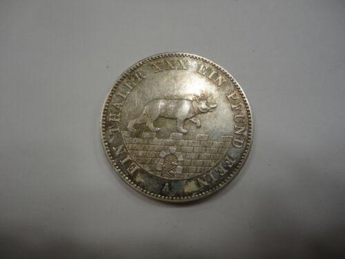 Germany Annalt - Bernberg 1861A Silver Taler KM 88