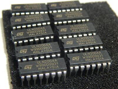 Major Brands ULN2004A Transistor Darlington NPN 50 Volt 0.5 Amp 16-Pin PD 15 pcs