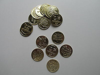 144 BIBLE VERSE COINS religious church VBS Bible Study teaching supplies NICE (Vbs Supplies)