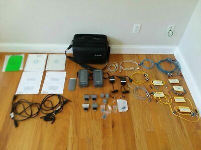 Agilent Framescope Wirescope 350 Cat5e Cat6 Sm And Mm Fiber Cable Certifier