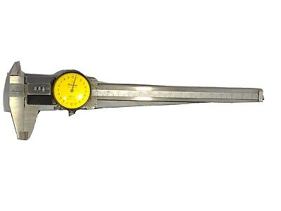 Mitutoyo 537-120 Metric Dial Caliper With Rolling Counter