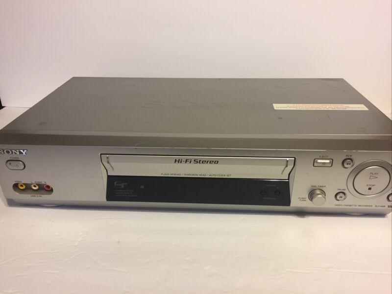 Sony SLV-N88 VHS VCR, Works Very Good,