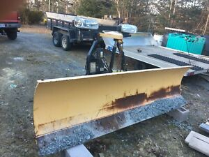 Fisher minute mount 9 foot plow