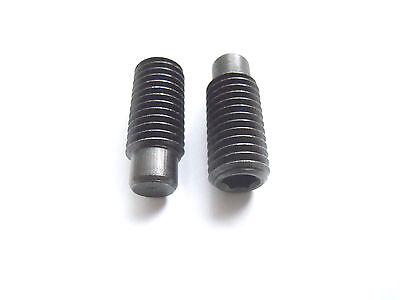 10 Stück Gewindestift mit Zapfen M10x20 DIN 915 Innensechskant Madenschrauben