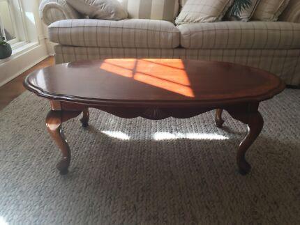 Antique vintage decor coffee table