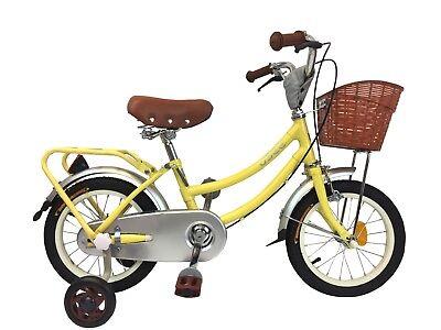 "children bike kids bike 14"" for 4-6 years old princess with basket"