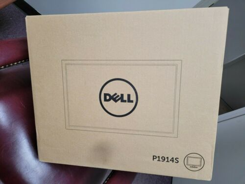 """Dell P1914S 19"""" 1280x1024 IPS LED Backlit LCD Monitor BRAND NEW"""