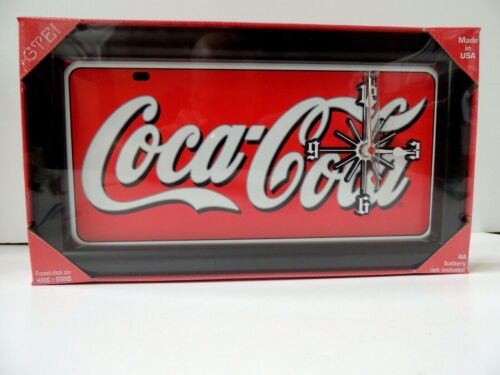 """COCA COLA""  WALL CLOCK"