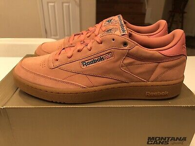 Reebok Club C 85 MU Dirty Apricot Teal Gum CN3865 Men's size 13 Shakewell LE