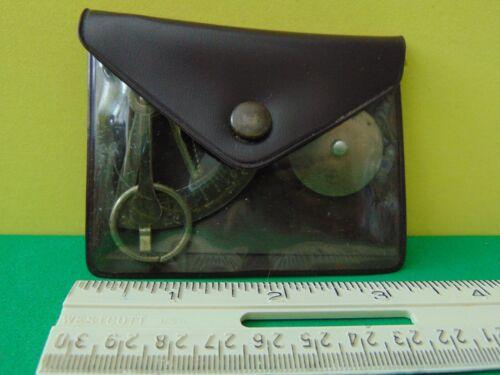 Vintage Pocket Postal Letter Scale 0-3 oz Made in Germany Good Condition