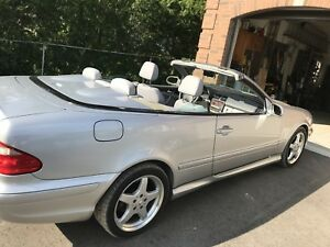 Mercedes Benz convertible 450 AMG
