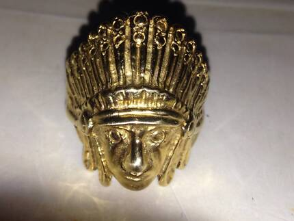 9ct 24Gram Cheif Head Gold Ring Fairfield Fairfield Area Preview