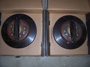 Ford Falcon BA BF FG FRONT SLOTTED ROTORS AND BRAKE PADS Wodonga Wodonga Area Preview