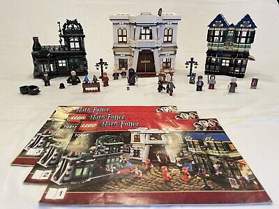LEGO Harry Potter: Diagon Alley 10217 (2011) Retired, 100% Fully Complete, Mint!